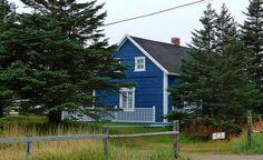 La maison du poète Gilles Vigneault à Natashquan.