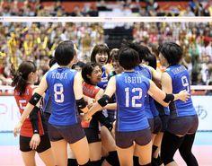日本はオランダ破りアジアトップの3位、リオへ弾み - 日刊スポーツ #バレーボール #リオ五輪