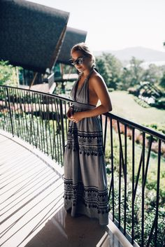Maxing out on the ultimate maxi dress - Allyson in Wonderland