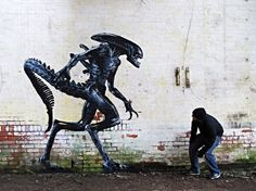 Banksy's Inspiration Got This Amazing Talent Become A Street Artist