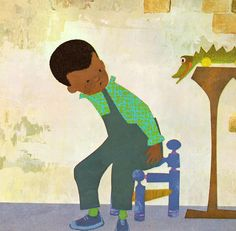 'Peter's Chair' - illustrated by Ezra Jack Keats