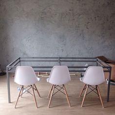 mesa de jantar industrial diy