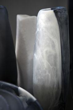 Dinosaur Designs The Art of Black & White 2013 Assorted Vases Dinosaur Design, Black And White, Surfers, Vases, Exo, Paradise, Resin, Objects, Home Decor