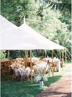 Garden Wedding Tent Outdoor 51 Ideas For 2019 Rustic Wedding Reception, Tent Wedding, Outside Wedding, Garden Wedding, Reception Ideas, Wedding Dresses, Wedding Ceremony, Small Wedding Receptions, Reception Party