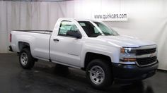 Amazing 2016 Chevrolet Silverado 1500 Reg. Cab Work Truck For Onyl $135 A Month At  Quirk