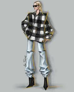 Fashion Model Sketch, Fashion Design Sketchbook, Fashion Design Portfolio, Fashion Design Drawings, Fashion Sketches, Fashion Models, Fashion Figure Drawing, Fashion Drawing Dresses, Fashion Illustration Dresses