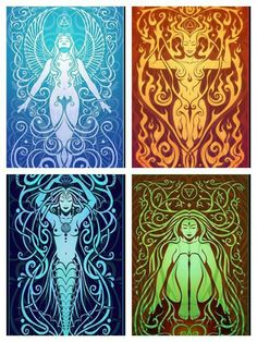 The Four Elements... | Wicca/Witches/Pagan | Pinterest