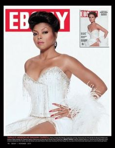 To celebrate its anniversary issue and icons of the past, EBONY magazine chose current celebs to play them: Taraji P. Henson as Diahann Carroll. Jet Magazine, Black Magazine, Black Girl Magic, Black Girls, Ebony Magazine Cover, Magazine Covers, Diahann Carroll, 65th Anniversary, Vintage Black Glamour