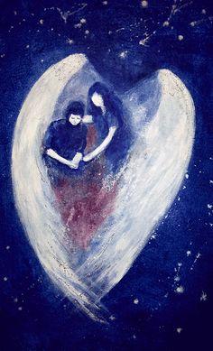 Consolation Art, Painting, Angel