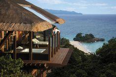 Shangri-La's Boracay Resort and Spa Tucked away in...   Luxury Accommodations