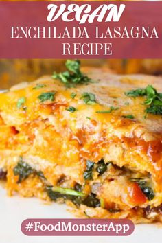 This recipe combines the two of our favorite comfort foods into one great dish – it's enchiladas in lasagna form. This dish is layer upon layer of homemade enchilada sauce, cheese, corn tortillas, and tender sweet potatoes. It's perfect for when you're trying to feed a crowd.