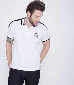 Polo masculina     Manga curta     Com bordado    Marca: Request    Composição: 100% algodão    Modelo veste tamanho: M         COLEÇÃO VERÃO 2016         Veja outras opções de    camisas polos masculinas.