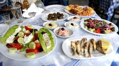 VISIT GREECE|Greek Salad & traditional greek dishes by David Hoffmann