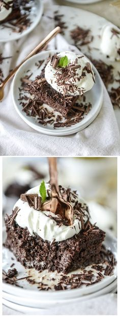 Chocolate Tres Leches Cake by /how/ sweet eats I http://howsweeteats.com