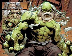 Secret Wars #1: Future Imperfect - Maestro (evil Hulk) interior art by Greg Land *