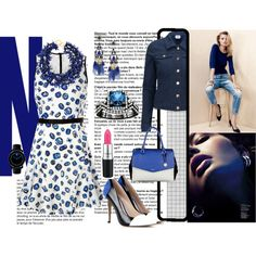 """""""Bluing....."""" by gemique on Polyvore"""