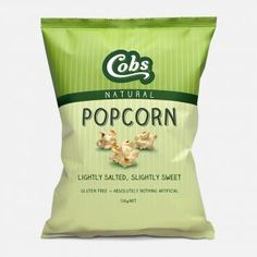 Cobs Popcorn | Natural Lightly Salted, Slightly Sweet