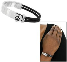 Love's Reminder Paw Print Bracelet -- $14.95 from the Animal Rescue website... purchase funds 14 bowls of food for animals.