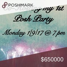 Party Time!!! I'm so excited to co-host my first post party next Monday! I'll update this as soon as I find out the theme of the party. Please follow and share to spread the word. Until then I'll be searching for my host pics. 💕 Other