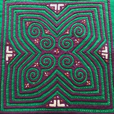 The piece has been in storage since the The main colors are green and violet, with white accents. Year Of The Monkey, Year Of The Pig, Hmong Tattoo, Zodiac Years, Reverse Applique, Dog Years, Mid Autumn Festival, Lunar New, Hanging Art