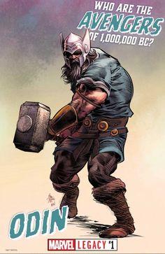 Os Vingadores A.C.: Odin.