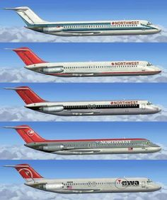 DC-9 Northwest Airlines