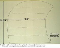 Arming Cap Pattern