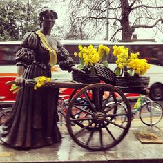 Molly Malone, supporting Daffodil Day.