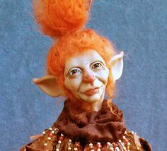 OOaK Mixed Media Mother Autumn Art Doll Sculpture by oddfae, $600.00