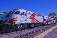 Rail Runner Santa Fe Photograph