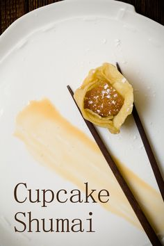 Cupcake Shumai - Cupcakes steamed in Shumai wrappers | Cupcake Project