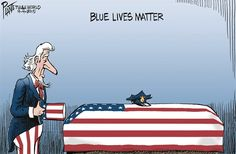 Blue Lives Matter © Bruce Plante,Tulsa World,police,officers,murder,protect,lives
