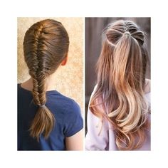 Back to School Hairstyles – Waterfall Braid | style hair for school ...