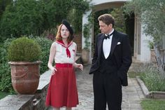 """Magician Stanley Crawford (Colin Firth) tries to debunk a psychic (Emma Stone) in Woody Allen's comic drama """"Magic in the Moonlight."""""""