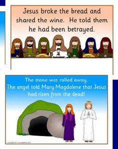 The Easter Story (SB1264) - SparkleBox