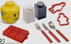 Lego collection for your kitchen- If that isn't awesome, I don't know what is.