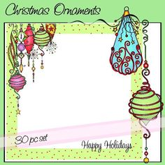Christmas Ornaments Whimsical Christmas, Christmas Deco, All Things Christmas, Christmas Crafts, Xmas, Christmas Ornaments, Tangle Doodle, Doodle Art, Christmas Tree Drawing