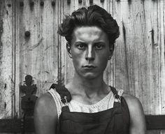 Paul Strand: Young Boy, Gondeville, France 1951.