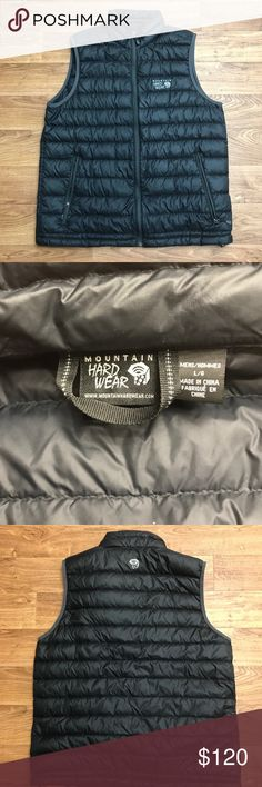 Mountain Hardwear Men's Large Vest insulated. Great vest. Perfect condition. Only mark is on tag inside vest. 10/10. No holes or tears. Open to all offers! Mountain Hard Wear Jackets & Coats Vests