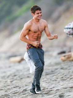 Fact: There is no such thing as seeing too much of Zac Efron's shirtless body.