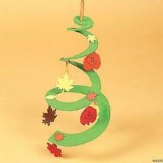 podzimní závěs Autumn Crafts, Fall Crafts For Kids, Diy For Kids, Diy And Crafts, Arts And Crafts, Winter Christmas, Christmas Crafts, Christmas Ornaments, Art Projects