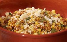 Grilled Corn Salad with Lime, Red Chili and Cotija Recipe by Bobby Flay : Food Network UK ... substitute this for that