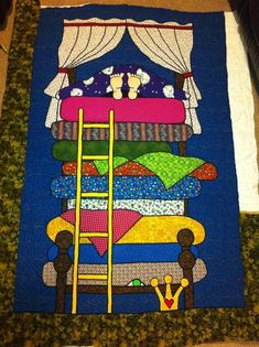 Quilting: The Princess and the Pea Quilt