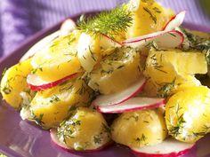 Kartoffel-Radieschen-Salat mit Dill | Zeit: 45 Min. | http://eatsmarter.de/rezepte/kartoffel-radieschen-salat-mit-dill