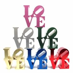 P.S. We Love: LOVE Paperweight