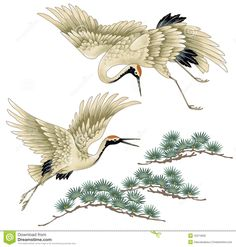 Image result for drawing of crane bird