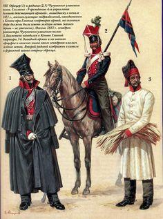 Regiment of Tartar Uhlans, distinguishable by the crimson czapska with white braid.