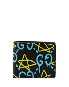 baf81f46050 Gucci GucciGhost Leather Wallet