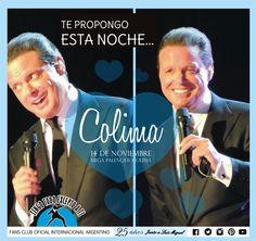 Luis Miguel -14 de Noviembre en Colima, Mega Palenque Colima -MEXICO - DEJAVUTOUR- 2015-  Tengo Todo Excepto a Ti, fans club oficial internacional Argentino-  Desde 1990 Junto a Luis Miguel Seguinos en todas nuestras redes sociales: FACEBOOK:  https://www.facebook.com/pages/Tengo-Todo-Excepto-A-Ti/595464773913653 TWITTER: @tengotodoclub - INSTAGRAM: @Tengotodocluboficial -