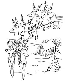 Free printable coloring pages for print and color, Coloring Page to Print , Free Printable Coloring Book Pages for Kid, Printable Coloring worksheet Santa Coloring Pages, Printable Christmas Coloring Pages, Coloring Pages To Print, Free Printable Coloring Pages, Colouring Pages, Coloring Books, Christmas Scenes, Christmas Colors, Christmas Art